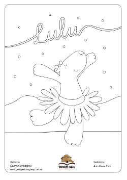 Lulu's Colouring Page