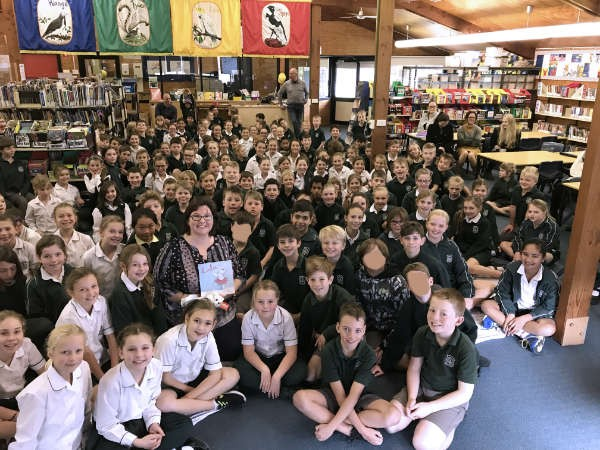 Spreading my 'Author Wings' through school visits by Georgie Donaghey - Part 2.